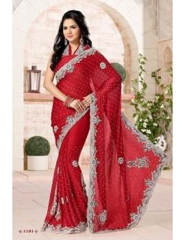 sari de mariage haut de gamme 1101