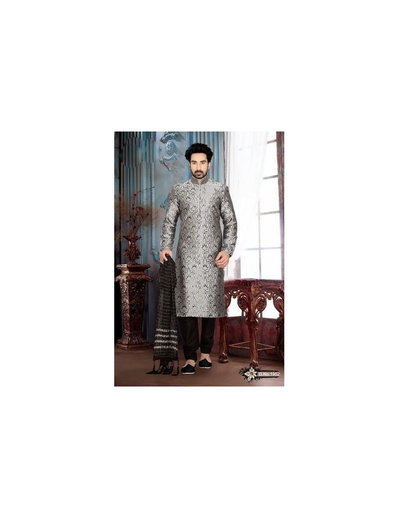 Sherwani kurta pyjama 1952