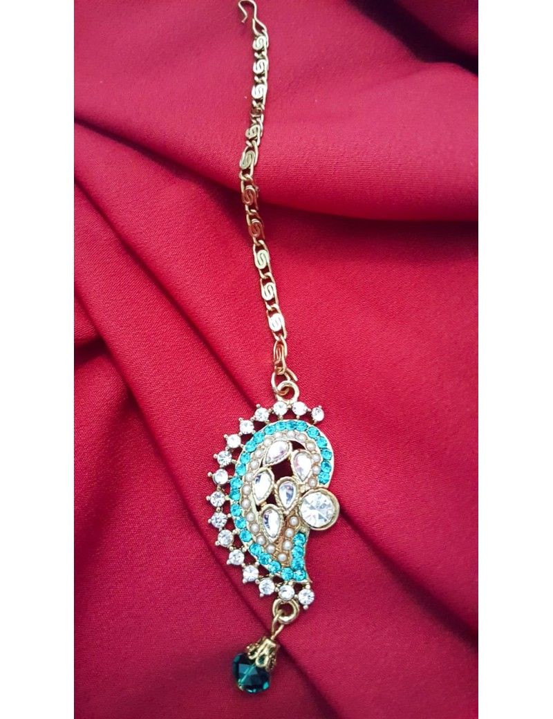 parure indienne turquoise 2600