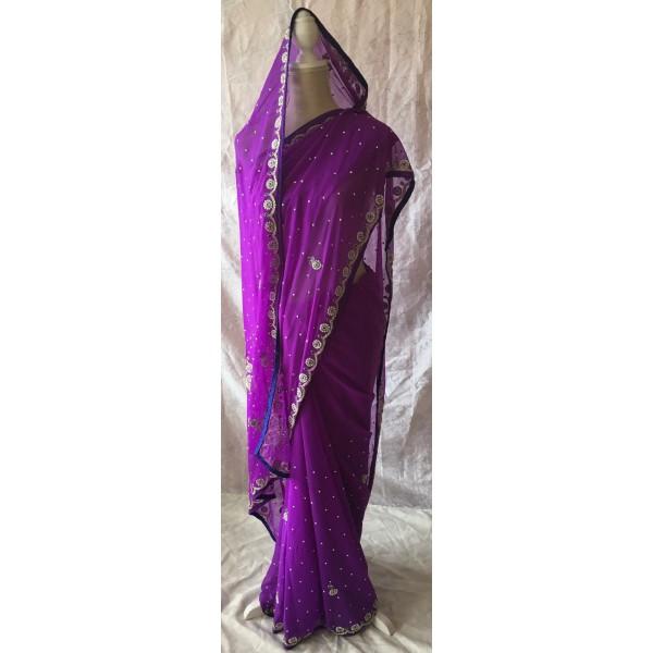 Sari violet 921