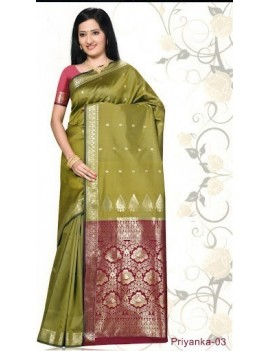 Sari traditionnel priyanka silk 03