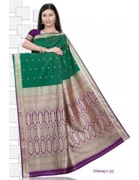 Sari traditionnel sawaariya silk S50