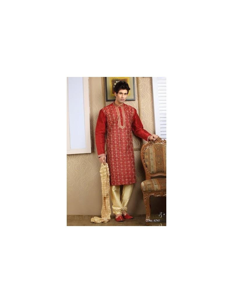 Sherwani kurta pyjama 6741