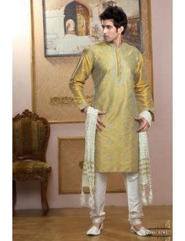 Sherwani kurta pyjama 6743