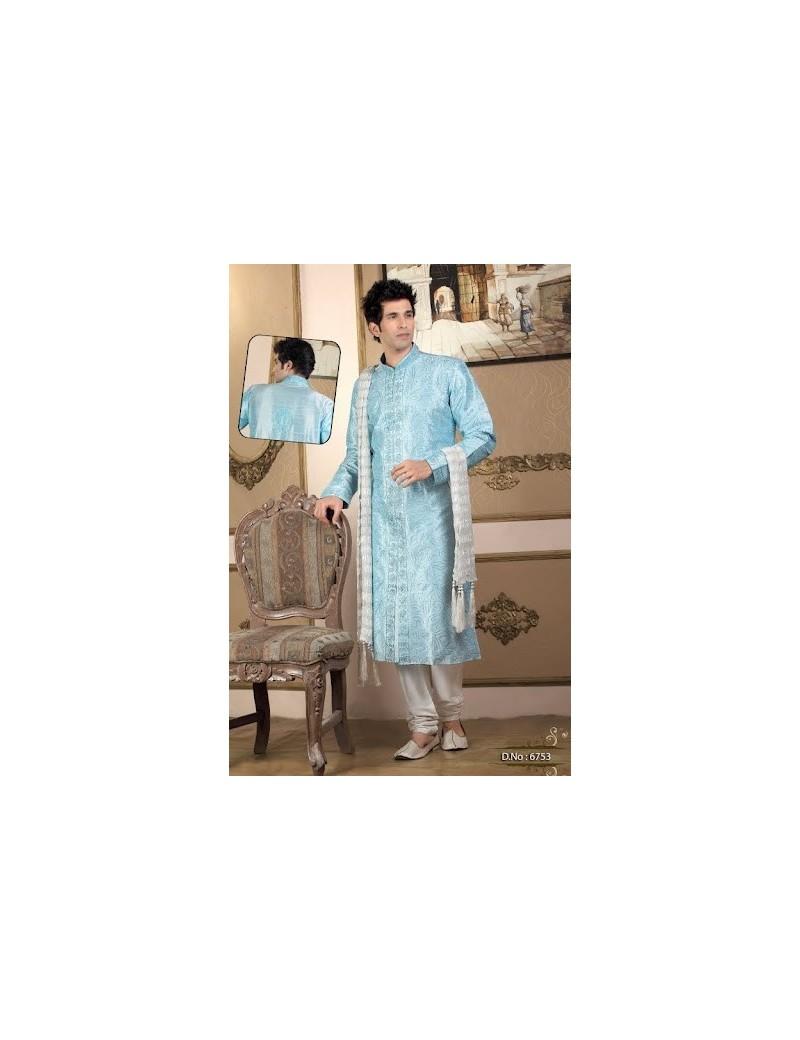 Sherwani kurta pyjama 6753