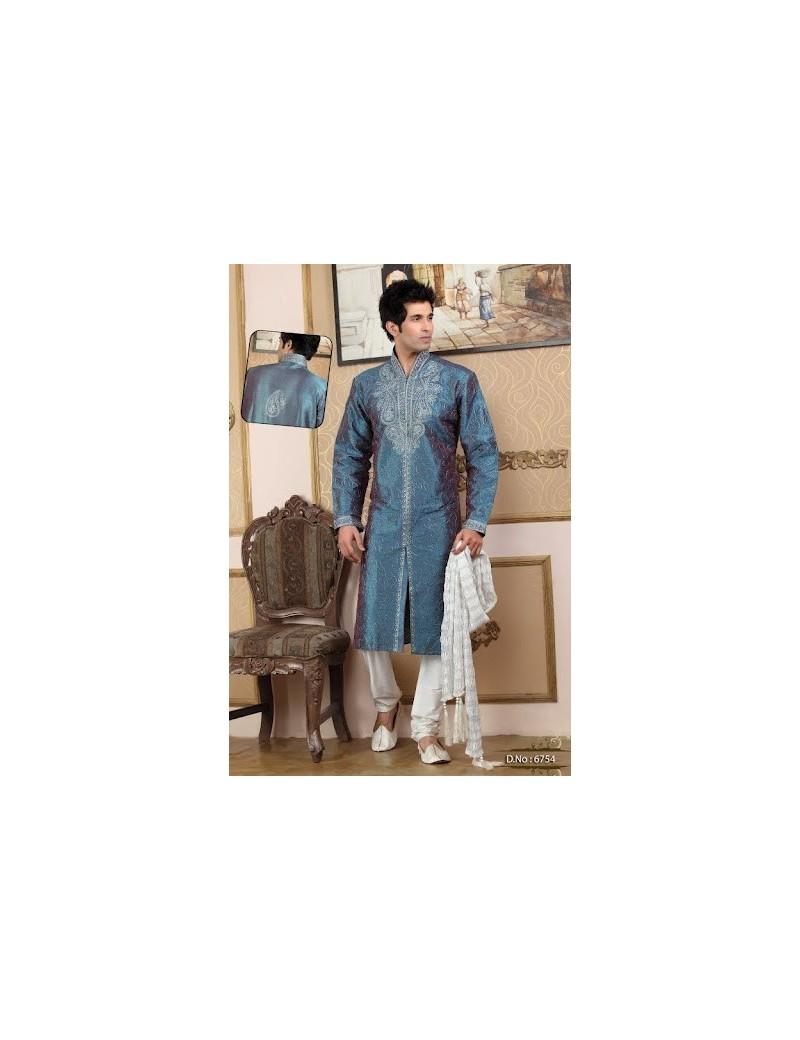 Sherwani kurta pyjama 6754