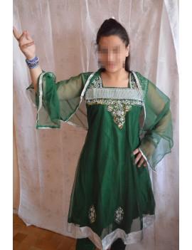 Salwar Kameez vert