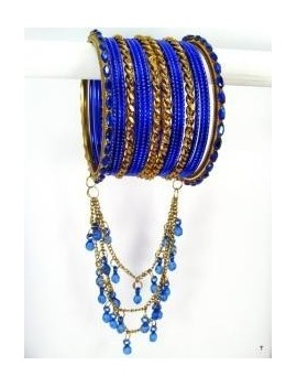 Designer Bracelets BLEU 4  - diamètre: 6 cm