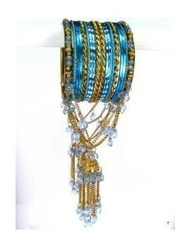 Designer Bracelets BLEU 9  - diamètre: 6 cm
